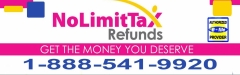 NO LIMIT TAX REFUND PA
